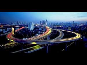 Bankok's super highway