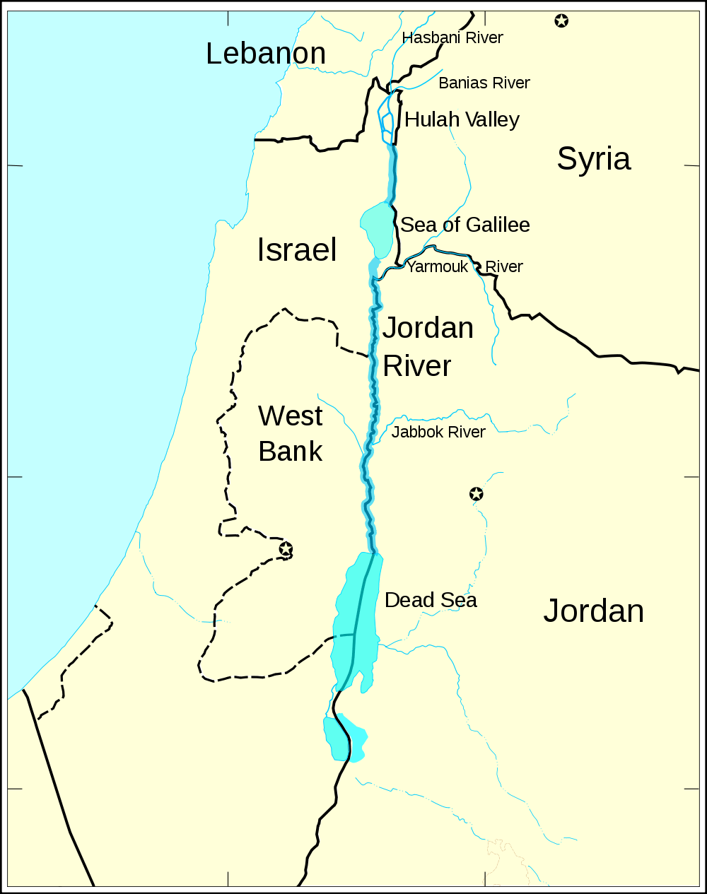 israel map with An Altruistic Angle Water Wars on Hattin eng likewise Jesusmapj additionally Ruins Spectacular Jerash Jordan likewise Iraque as well Israel.